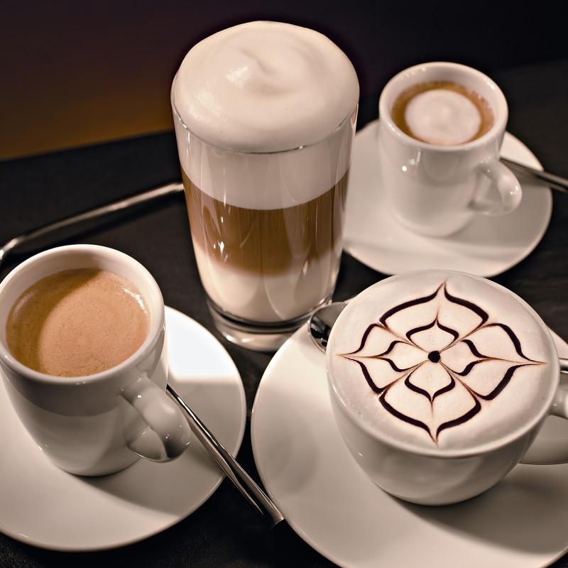 可製作多種花式咖啡
